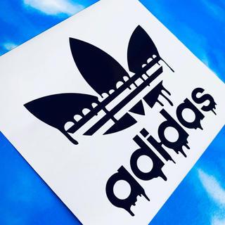 アディダス(adidas)のadidas アディダス ロゴ ステッカー(ステッカー)