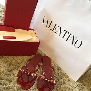 ヴァレンティノ(VALENTINO)の即発送⭐︎ヴァレンティノ リボン スタッズ サンダル(サンダル)