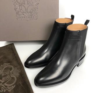 サルトル(SARTORE)の新品 36 サルトル SARTORE サイドゴア ショートブーツ 黒 23(ブーツ)