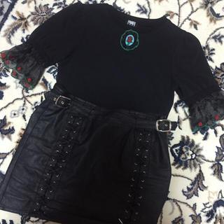 パメオポーズ(PAMEO POSE)のローズ柄のトップス(シャツ/ブラウス(半袖/袖なし))