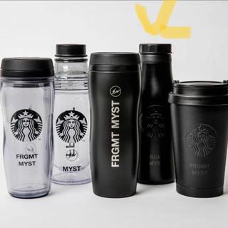 スターバックスコーヒー(Starbucks Coffee)のステンレスロゴボトルマットブラック(タンブラー)