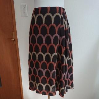 シビラ(Sybilla)のシビラ(未使用品)M 秋物 スカラップデザインスカート(ひざ丈スカート)