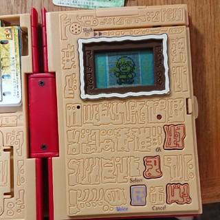 バンダイ(BANDAI)の金色のガッシュベル サウンド液晶図鑑 DX赤い魔本 スペシャルカードエディション(ゲーム)