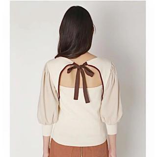 リリーブラウン(Lily Brown)のボリュームスリーブトップス(Tシャツ(半袖/袖なし))