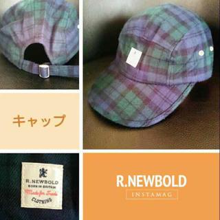アールニューボールド(R.NEWBOLD)の6日まで値下げ‼️R.newbold/ウールキャップ(キャップ)