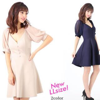 デイジーストア(dazzy store)のキャバクラワンピース ドレス 大きいサイズ デイジーストア(ミニドレス)