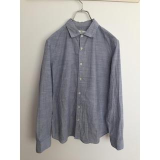 フレディアンドグロスター(FREDY & GLOSTER)のfredy & gloster 綿100%シャツ 日本製 着用1〜2回の美品(シャツ)