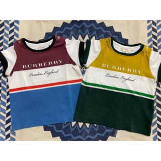 バーバリー(BURBERRY)の【美品】Burberry バーバリー Tシャツ 12M(JP約80cm)(Tシャツ)