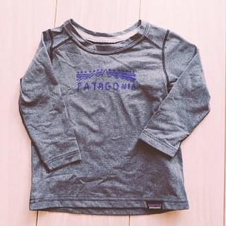 パタゴニア(patagonia)の【80サイズ】Patagonia 長袖Tシャツ(Tシャツ)