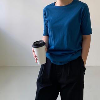ディーホリック(dholic)のsako様専用新品◆Storynine◆二の腕隠してスッキリ見せる無地Tシャツ(Tシャツ/カットソー(半袖/袖なし))