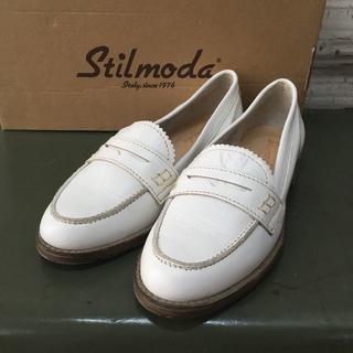 ナノユニバース(nano・universe)のイタリア製 STILMODA スティルモーダ シューズ USED(ローファー/革靴)