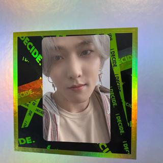 アイコン(iKON)のiKON    ドンヒョク  トレカ  緑         ジナン(K-POP/アジア)