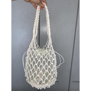 ウィゴー(WEGO)のネットバッグ/シアー巾着セット(トートバッグ)