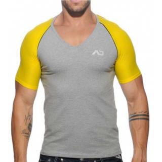 アディクテッド(ADDICTED)の ad460*L(ヘザーグレー)(Tシャツ/カットソー(半袖/袖なし))