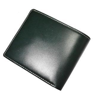 ホワイトハウスコックス(WHITEHOUSE COX)の★【新品◆ホワイトハウスコックス 同革】ブリティッシュグリーン 折り財布(折り財布)