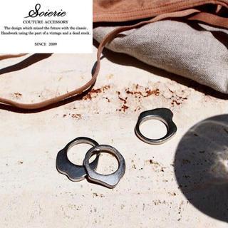 ユナイテッドアローズ(UNITED ARROWS)のsoierie ソワリー Polished ring 3set silver(リング(指輪))