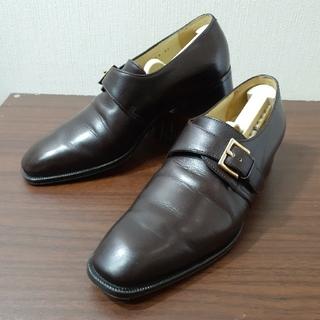 ジョンロブ(JOHN LOBB)の[美品] ジョンロブ レディース シングル モンクストラップ ビジネスシューズ(ローファー/革靴)