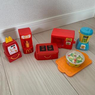 マクドナルド(マクドナルド)のハッピーセットおままごとset(知育玩具)