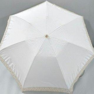 セリーヌ(celine)のセリーヌ 折りたたみ傘美品  レース(傘)