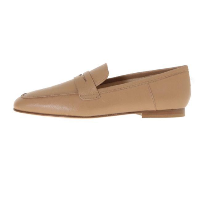 FABIO RUSCONI(ファビオルスコーニ)のFABIO RUSCONI ファビオルスコーニ ローファー ALMOND レディースの靴/シューズ(ローファー/革靴)の商品写真