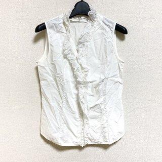 ニジュウサンク(23区)のニジュウサンク シャツブラウス サイズ38 M(シャツ/ブラウス(半袖/袖なし))