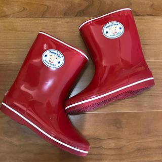 ファミリア(familiar)のfamiliar レインブーツ 長靴 16cm 女の子(長靴/レインシューズ)