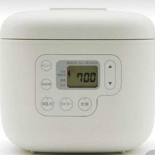 ムジルシリョウヒン(MUJI (無印良品))の無印 炊飯器 3合炊き(炊飯器)
