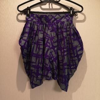 バーニーズニューヨーク(BARNEYS NEW YORK)のバーニーズニューヨークのキュロットスカート(ひざ丈スカート)