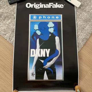 メディコムトイ(MEDICOM TOY)のKaws ポスター ORIGINAL FAKE DKNY POSTER(ポスター)