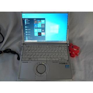 パナソニック(Panasonic)のLET'S NOTE 12.1inc CPUi5 H/D 320GB MEM4G(ノートPC)