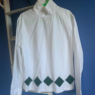 ラフシモンズ(RAF SIMONS)のnamacheko ハイネックシャツ(シャツ)