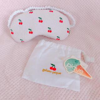 ジェラートピケ(gelato pique)のジェラートピケ アイマスク 新品タグ付き(その他)