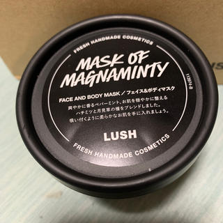 ラッシュ(LUSH)のLUSH パワーマスク SP 125g 1個(ボディスクラブ)