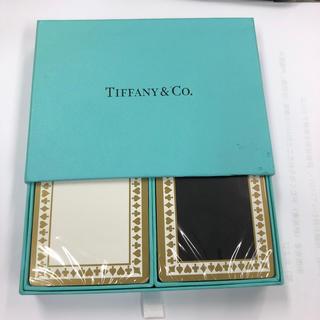 ティファニー(Tiffany & Co.)のティファニー   トランプセット 未開封 2組(トランプ/UNO)
