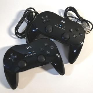 Wii - 任天堂 Wii クラシック コントローラ PRO 二個セット