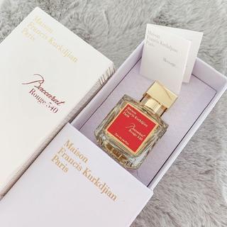 メゾンフランシスクルジャン(Maison Francis Kurkdjian)の【値下げ中】新品未使用 バカラルージュ540 オードパルファム 70ml (香水(女性用))