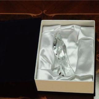 ディズニー(Disney)の【ディズニーファン必見!】高品質クリスタル製ガラスの靴(その他)