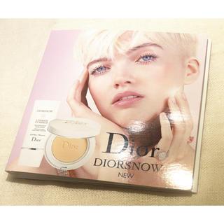 ディオール(Dior)のディオール スノーパーフェクトライトコンパクトファンデーションと日焼け止め乳液(ファンデーション)