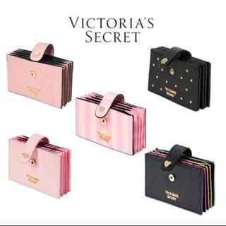 ヴィクトリアズシークレット(Victoria's Secret)の【お値下げ】新品☆VICTORIA'S SECRET カードケース(パスケース/IDカードホルダー)