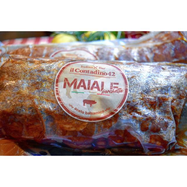 ❣️豚バラ肉のバルサミコチャーシュー❣️ 一本 オリジナル自家製 食品/飲料/酒の加工食品(その他)の商品写真