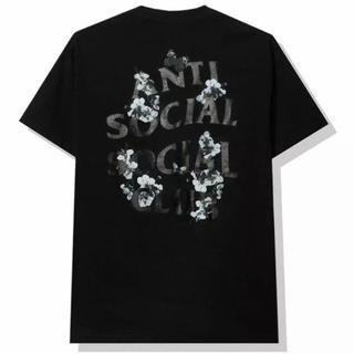 アンチ(ANTI)のANTI SOCIAL CLUB DRAMATIC BLACK TEE(Tシャツ/カットソー(半袖/袖なし))