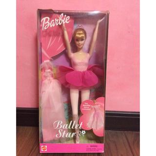バービー(Barbie)のバレリーナバービー★Barbie Ballet Star (2001) ★未開封(ぬいぐるみ/人形)