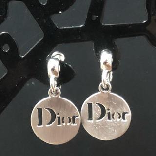 ディオール(Dior)のディオール  丸 ロゴ クリップ式 イヤリング 値下げ(イヤリング)