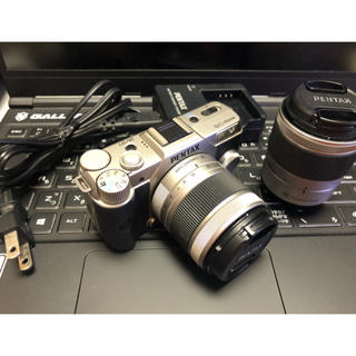 ペンタックス(PENTAX)のPENTAX Q10 ミラーレスデジカメ 美品(ミラーレス一眼)
