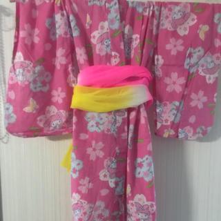 サンリオ(サンリオ)の子供浴衣110cmサンリオ・マイメロディ(甚平/浴衣)