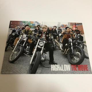 エグザイル トライブ(EXILE TRIBE)のHIGH&LOW ポストカード3枚組(音楽/芸能)