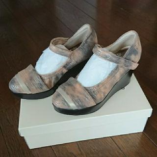 ビューフォート靴 21.5cm(ハイヒール/パンプス)
