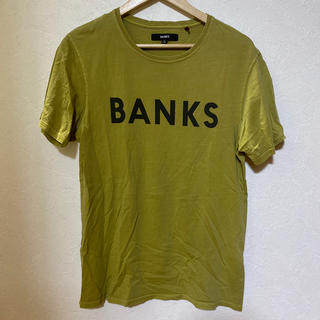 ロンハーマン(Ron Herman)のBANKS banks ロンハーマン イエロー グリーン TEE Tシャツ(Tシャツ/カットソー(半袖/袖なし))