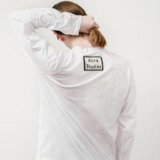 アクネ(ACNE)のacne studios バックロゴ ロンT(Tシャツ/カットソー(七分/長袖))