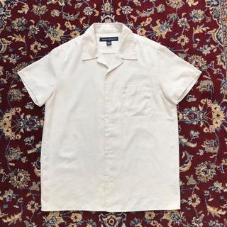 アレッジ(ALLEGE)のUSA VINTAGE mesh design fake-suede shirt(シャツ)